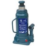 Домкрат профессиональный гидравлический бутылочный TORIN T91204 (230-465 мм, 12т)