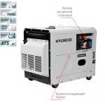 Дизельный генератор Hyundai Diesel DHY 8000SE-3