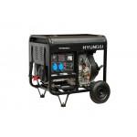 Генератор Hyundai DHY 8000LE + колеса