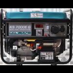 Бензо-газовый генератор Konner&Sohnen KS 7000EG