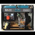 Дизельный генератор Konner&Sohnen KS 8000DE-3