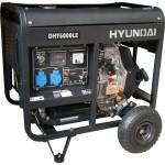 Дизельный генератор HYUNDAI DHY 6000LE + колеса