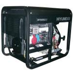 Дизельный генератор HYUNDAI DHY 6000LE-3 + колеса