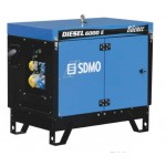Бензиновый генератор SDMO DIESEL 6000 E SILENCE