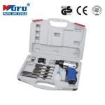 Пневмозубило WUFU Air Tools WF-007C в чемодане 10 предметов
